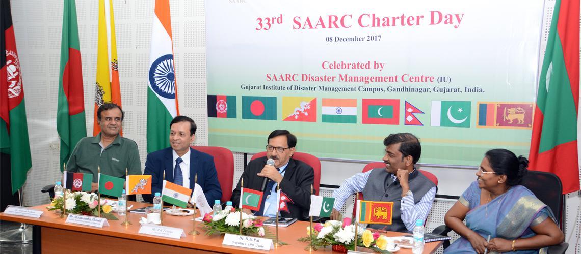 Celebration of 33rd SAARC Charter Day