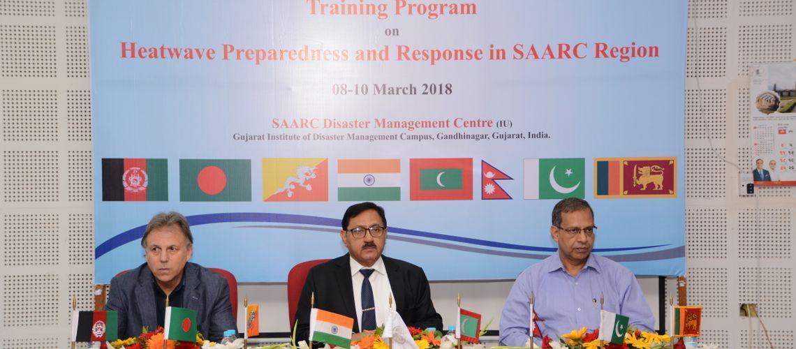 Training program on Heat Wave Preparedness and Response in SAARC region 08 - 10 March, 2018